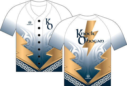 Knock O'Hogan Baseball Top