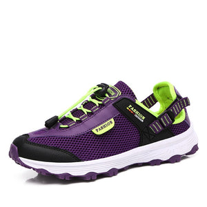 Women's Casual Wading Shoes Outdoor Hiking Sneakers Mesh Sports Athletics Running - NETTEa