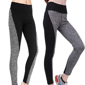 Women's Sports Trousers Athletic Gym Workout Fitness Yoga Slim Leggings Pants - NETTEa