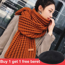 Load image into Gallery viewer, USPOP New winter scarf fashion women long scarves female vintage large shawl soft warm wraps pashmina - NETTEa
