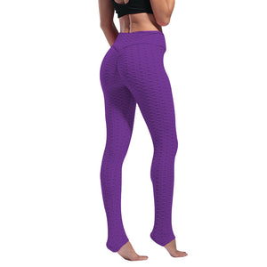 Women Leggings Anti Cellulite Pants Sexy High Waist Push Up Sports Trousers Elastic Butt Lift Pant for Workout Fitness Legging - NETTEa