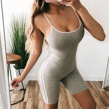 Load image into Gallery viewer, Sexy Women 2PCS Yoga Set Female Sleeveless Tank Top Bra Fitness Shorts Running  Gym Sports Clothes Suit - NETTEa