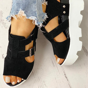 SARAIRIS 2020 Fashion Summer Platform Wedge High Heels Casual Comfortable Light Leisure Shoes Woman Sandals Women Shoes Female - NETTEa