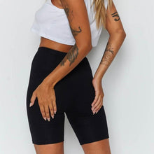 Load image into Gallery viewer, Women Summer Cycling bike Shorts Stretch Basic Short Solid Black Shorts for women female clothing pantalones sweatpants strike - NETTEa