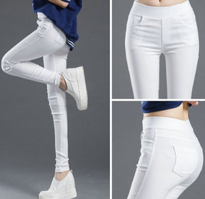 High Waist Pockets Pants - NETTEa