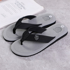 ZYYZYM Flip Flops Men Slippers Summer Anti-skid Outdoor Light Casual Beach Male Sandals Household Slipper - NETTEa