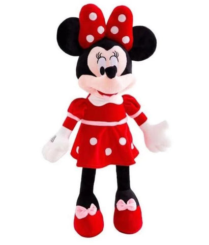 peluche minnie rouge