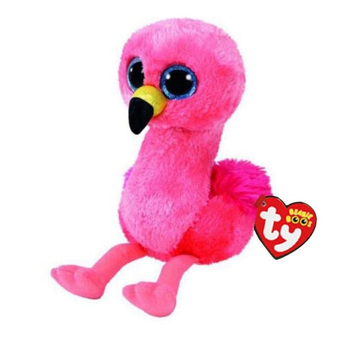 Peluche Ty Glida le Flamant Rose