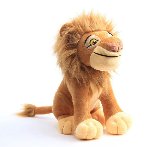 Peluche lion grand sourire