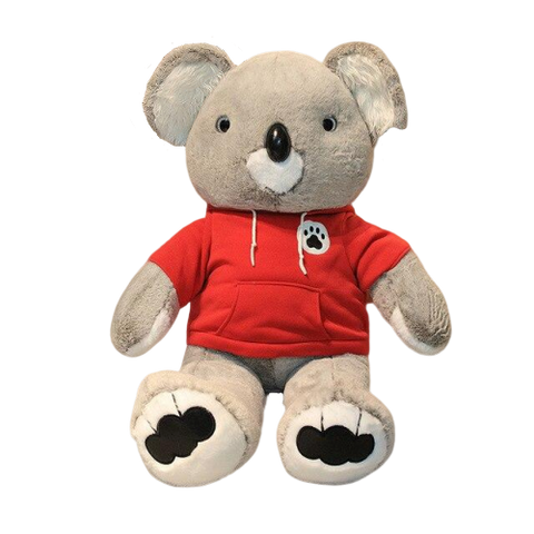 peluche koala sweat rouge