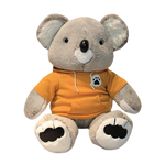 peluche koala sweat jaune