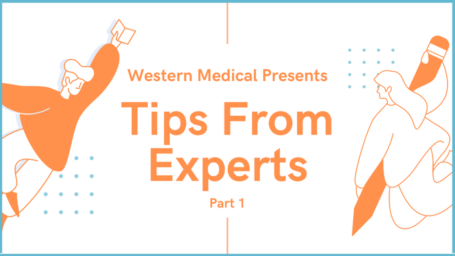Tips From Experts Part 1: Dr. Scott Conard