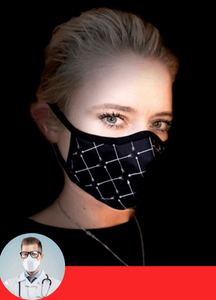 KandyMask - The First Reusable Cloth Mask with N95+ Standards [3-Pack]