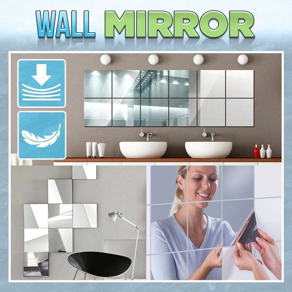 🔥Mirror Wall Stickers