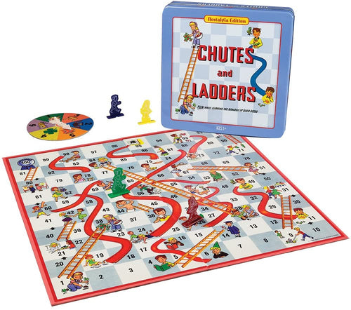 Chutes and Ladders in Classic Collector's Tin