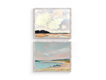 Load image into Gallery viewer, Cape Ann Print Set of 2- Crane Beach and Choate Island