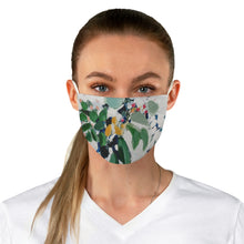 Load image into Gallery viewer, Eucalyptus Floral Print Mask