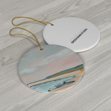 Load image into Gallery viewer, Crane Beach Ceramic Ornament