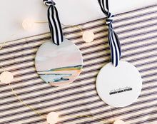 Load image into Gallery viewer, Crane Beach Porcelain Ornament