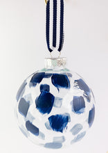 Load image into Gallery viewer, Tidal Reflection- Hand Painted Glass Ornament