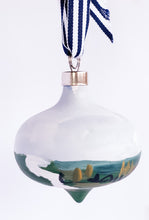 Load image into Gallery viewer, Marshscape- Hand Painted Bisque Ornament