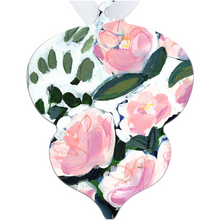 Load image into Gallery viewer, Pink Blooms and Eucalyptus Tree Ornament
