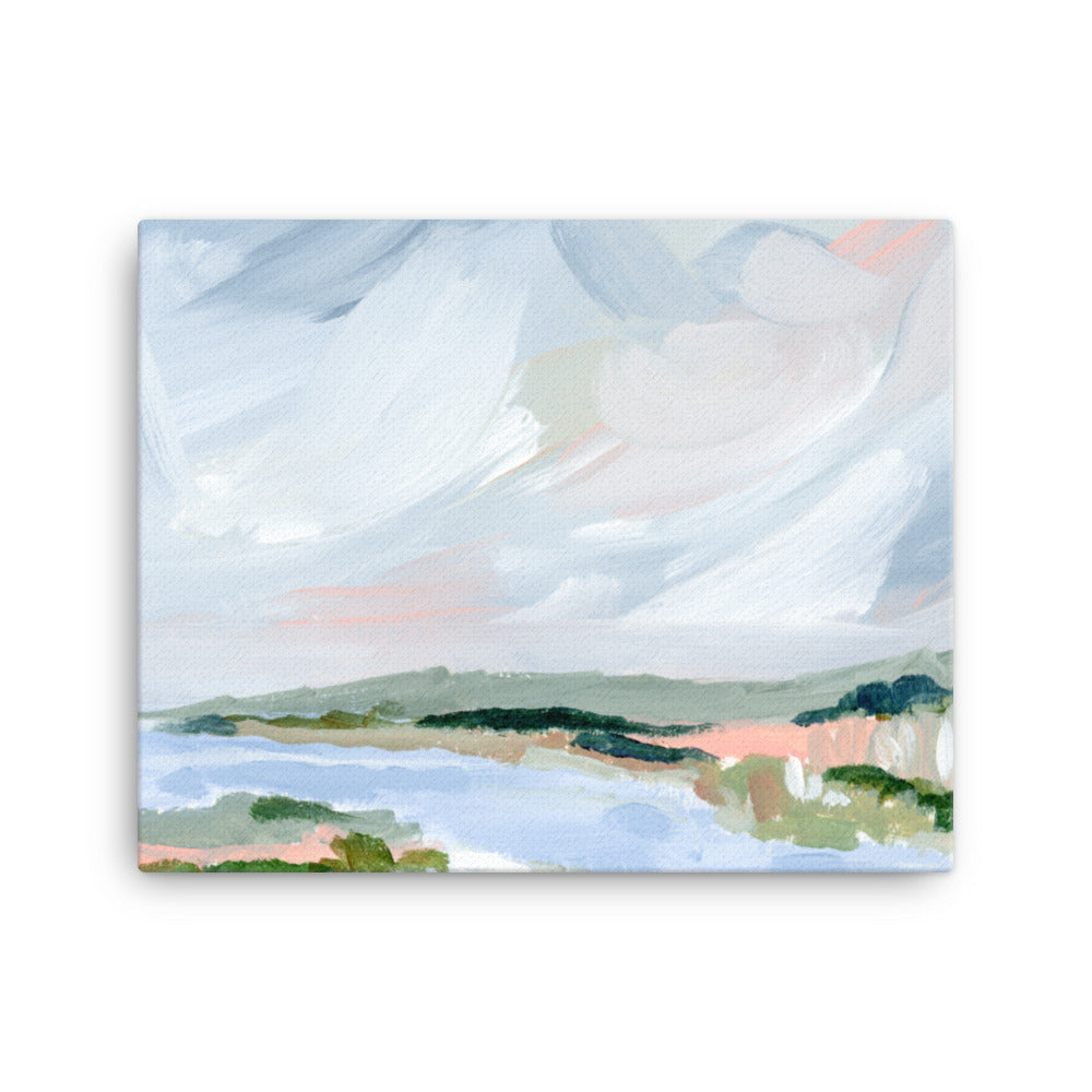 Oyster River, Chatham, Gallery Wrap Canvas