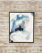 Load image into Gallery viewer, Abstract in Blue Pink and White II