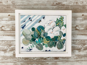White Floral with Eucalyptus