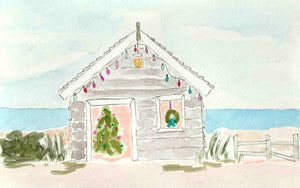 Christmas Beach Shack