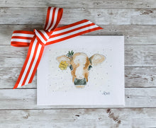 Load image into Gallery viewer, Holly Jolly Christmas Cow