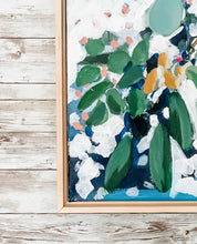 Load image into Gallery viewer, White Flower and Eucalyptus Painting