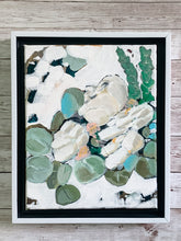 Load image into Gallery viewer, White Flowers with Eucalyptus