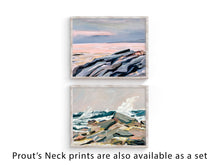Load image into Gallery viewer, Eastern Point of Prout's Neck, Maine, Inspired by Winslow Homer