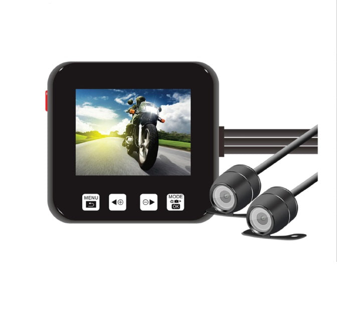 V-SYS M6H Motorcycle DVR Dash Cam-Digital Compact Cameras-futuromic