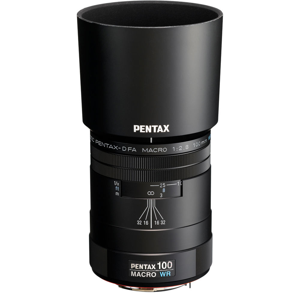 (Back order only. Ship within 45 days) smc PENTAX-D FA MACRO 100mmF2.8 WR Lens-Camera Lenses-futuromic
