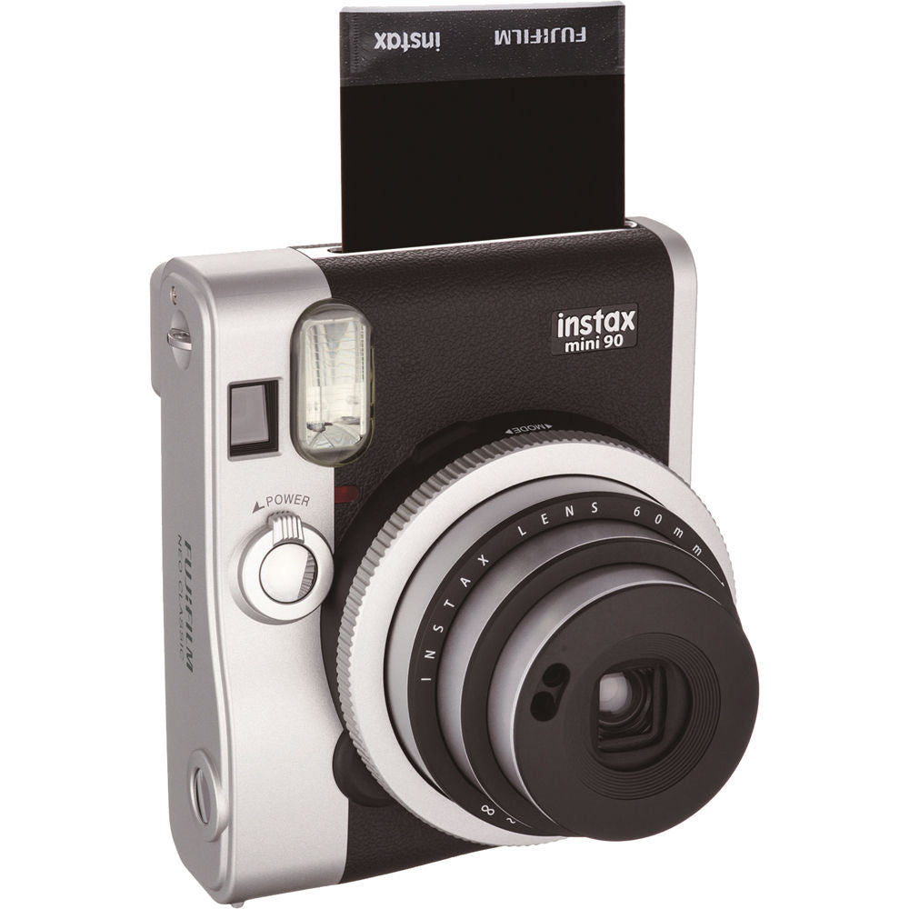 Fujifilm Instax Mini 90 Neo Classic Camera (Black)-Instant Camera-futuromic