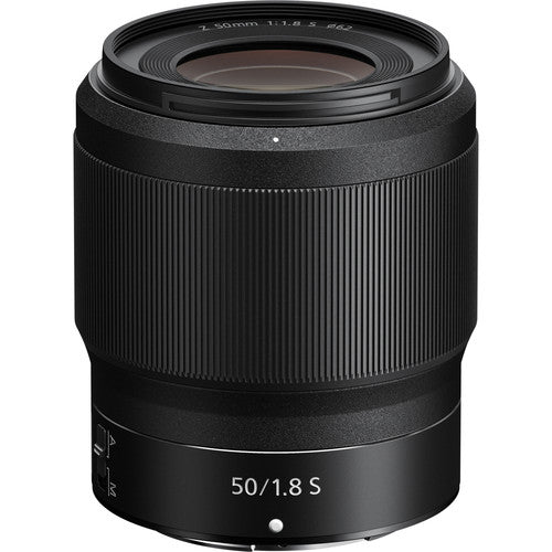 NIKKOR Z 50mm f/1.8 S Lens-Camera Lenses-futuromic