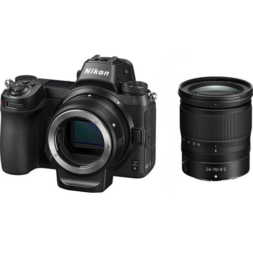 NIKON Z6 KIT WITH NIKKOR Z 24-70MM F/4S AND MOUNT ADAPTER FTZ-Mirrorless-futuromic