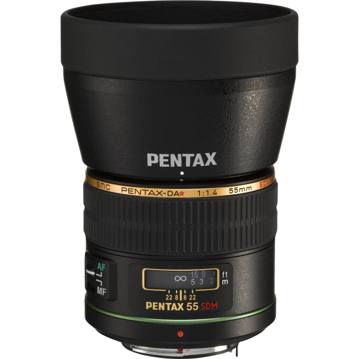 (Back order only. Ship within 45 days) smc PENTAX-DA★55mmF1.4 SDM Lens-Camera Lenses-futuromic