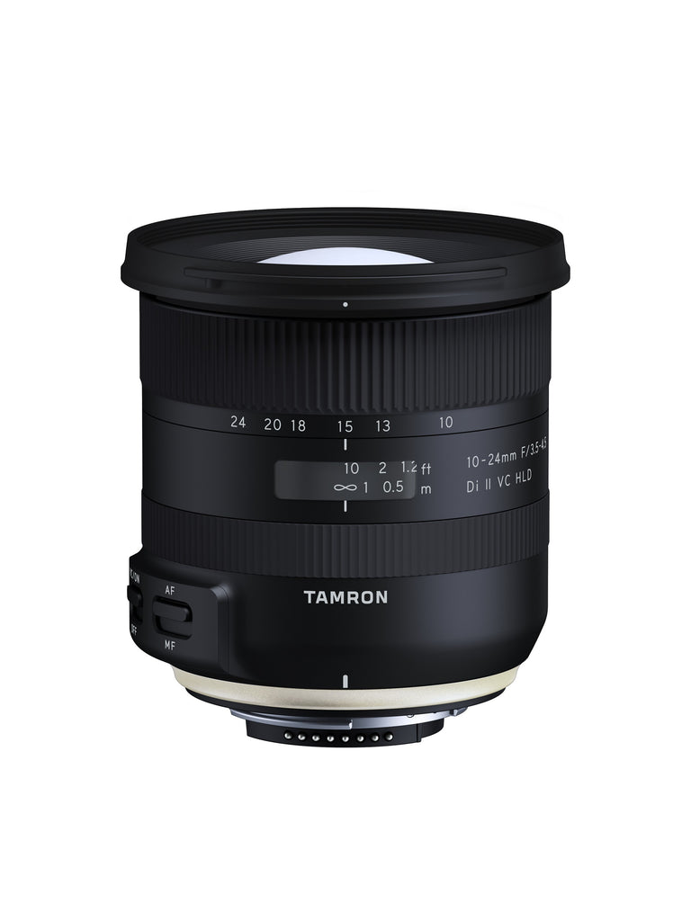 Tamron SP AF 10-24mm F3.5-4.5 Di II VC HLD lens (Nikon) (B023)-Camera Lenses-futuromic