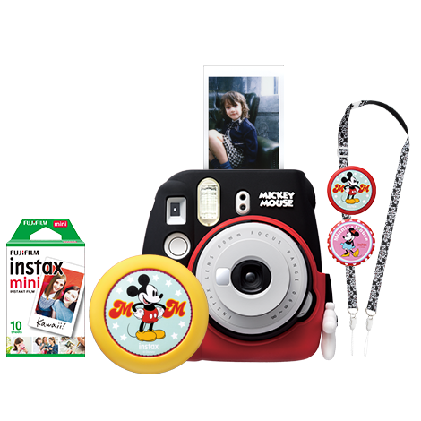 Fujifilm Instax Mini 9 Instant Camera ( Mickey Mouse Package )-Instant Camera-futuromic