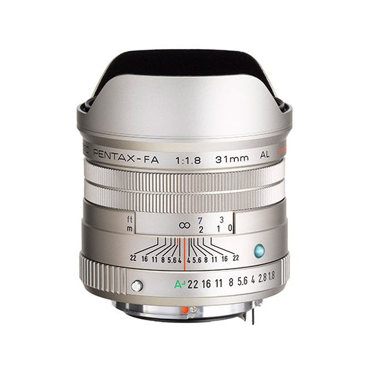 (Back order. Ship within 45 days) smc PENTAX-FA 31mmF1.8AL Limited Lens (Silver)-Camera Lenses-futuromic