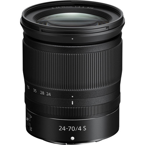 [Pre-order item. Ship within 30 days] NIKKOR Z 24-70mm F/4 S Lens-Camera Lenses-futuromic