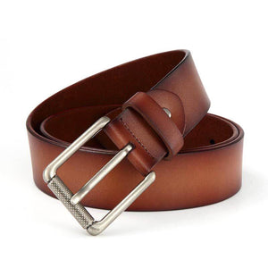Men's Casual Original Leather Belt - Free Shipping