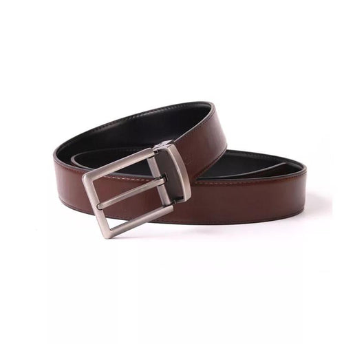 Men's Reversible Original Leather Pin Buckle Belt - Free Shipping