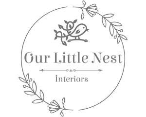 Our little nest interiors logo
