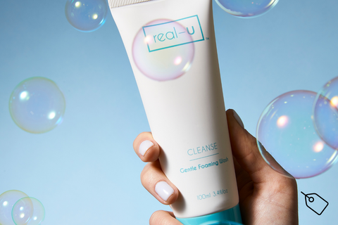 real-u Cleanse acne face wash
