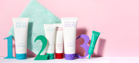 real-u acne skincare for oily and acne prone skin