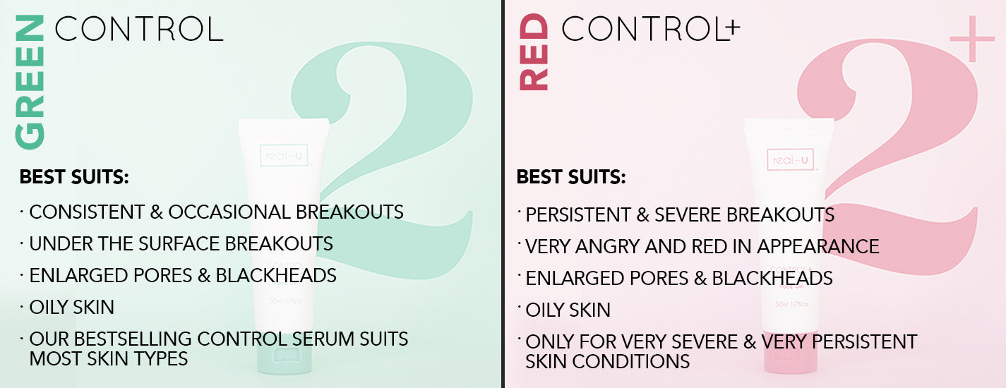 Which control will work best for your pimples and acne